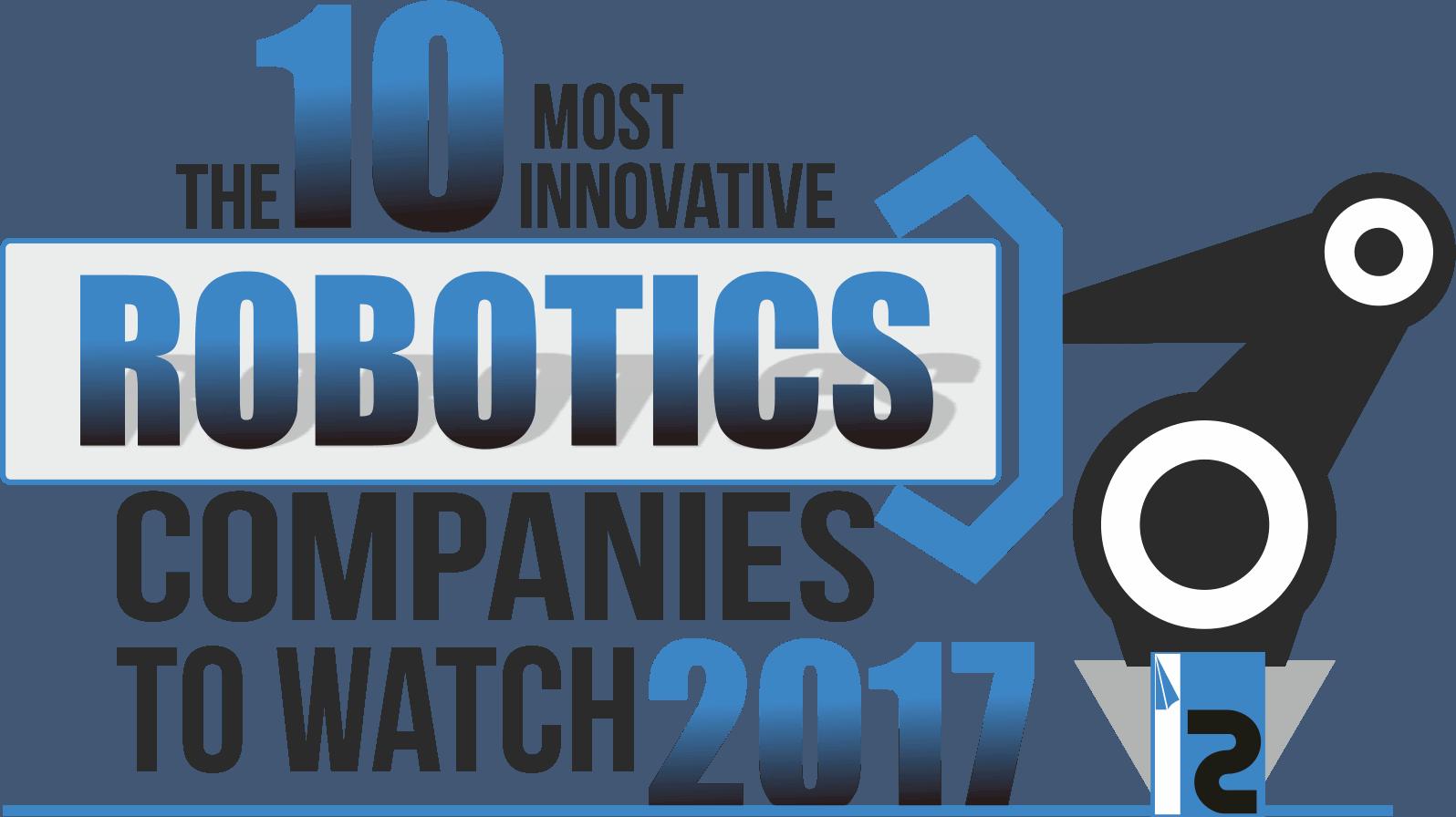 The 10 Most Innovative Robotics Companies to Watch 2017 logo
