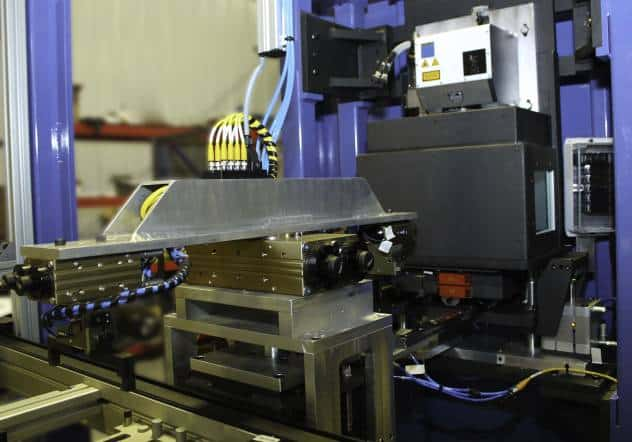 Laser Welding on Pallet Line