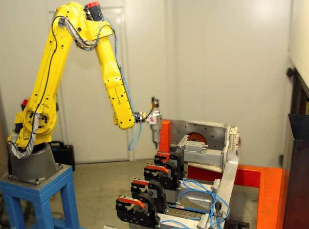 Robotic Laser Cutting system