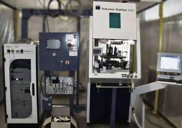 Laser automation control panels
