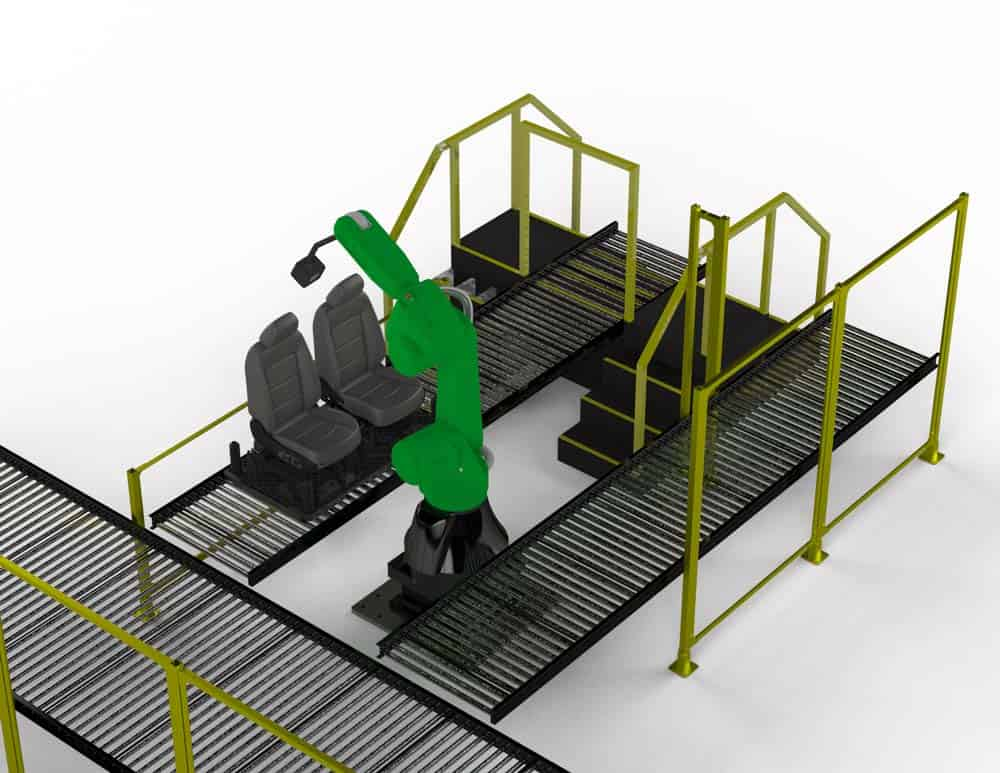 Seating Inspecting Robot