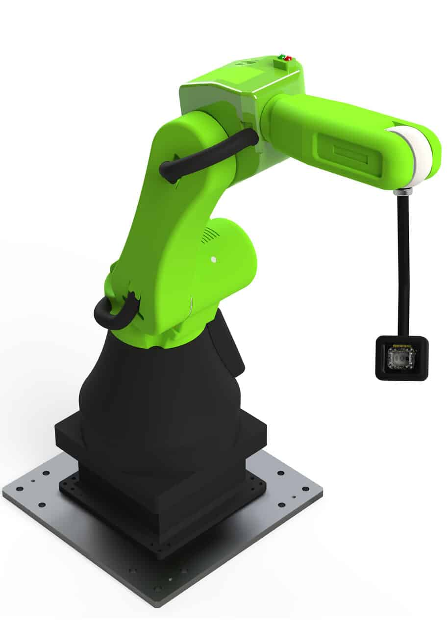 Collaborative Robot with inspection camera