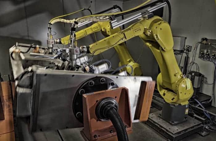 Dual Robotic Laser Cutting
