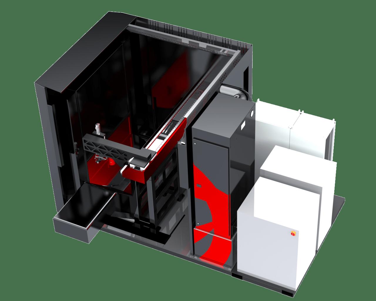 Laser CNC Cantalever