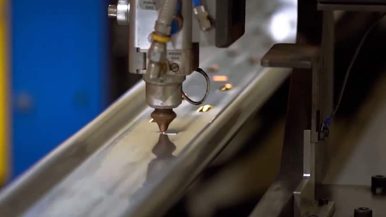 Laser Cutting for Side Step Rails