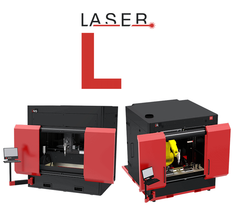 BOS Pre engeneered Laser Cells line logo and two examples