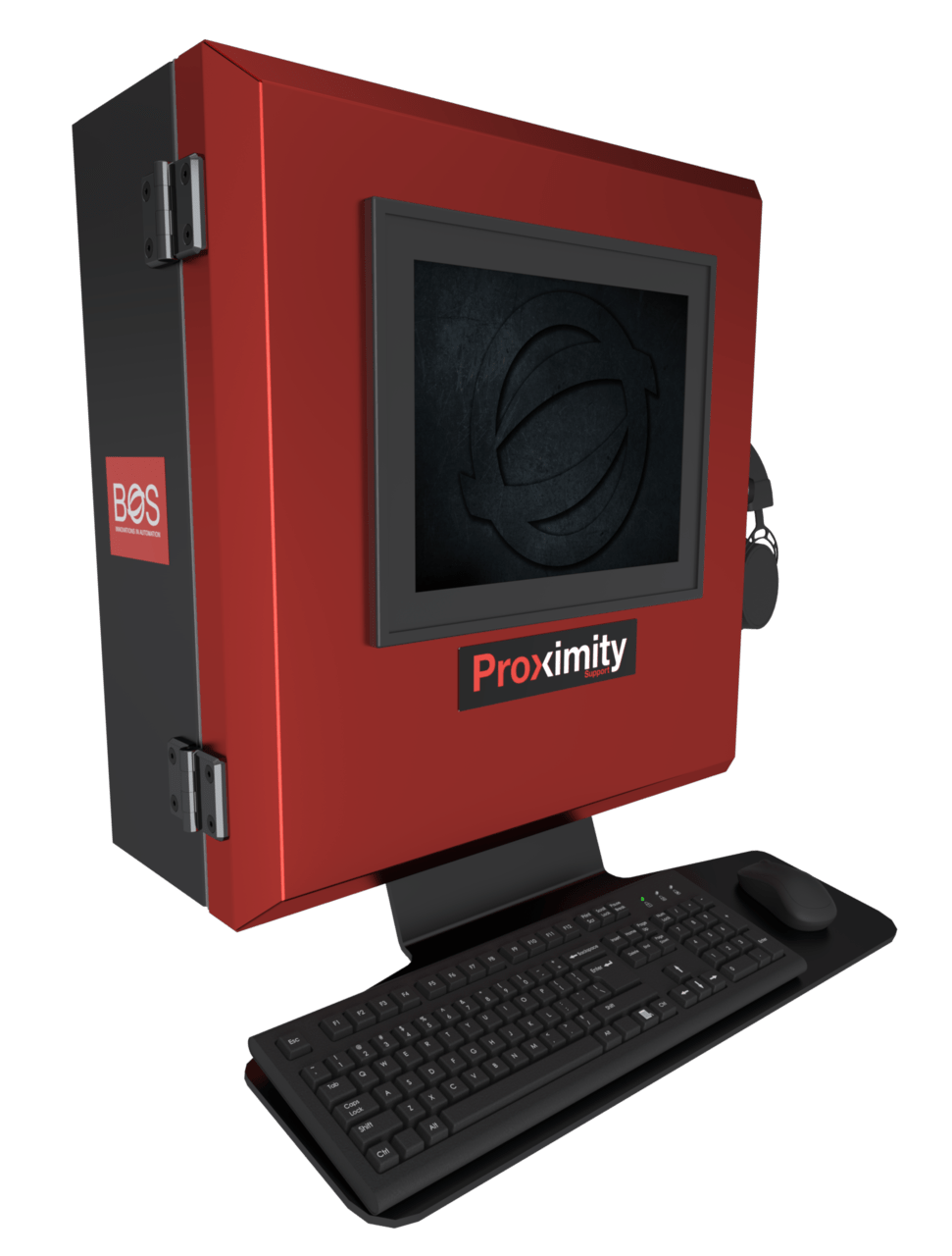 3D model of the Proximity Support Panel
