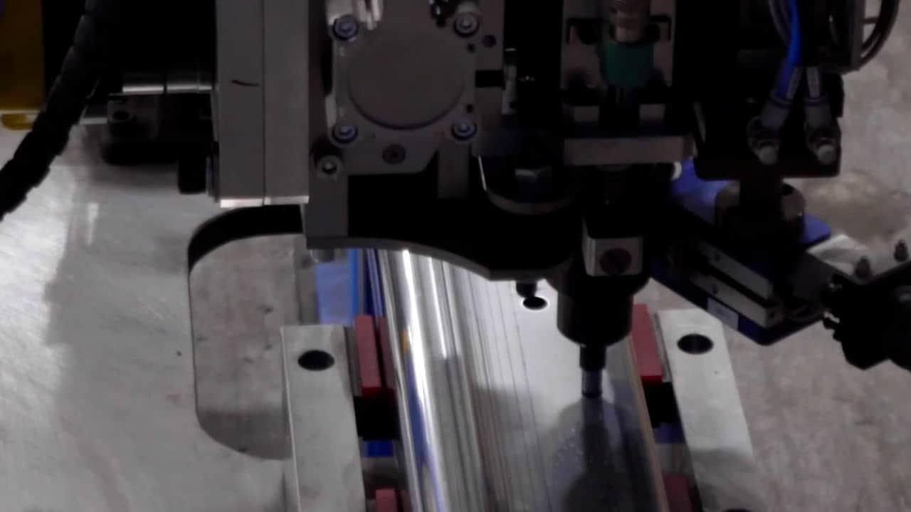 Robotic rivnut installation