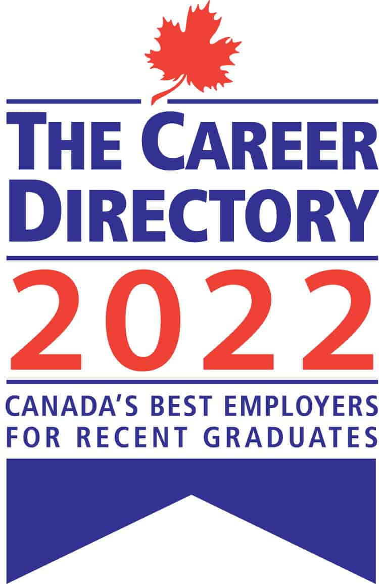 The Career Directory 2022 - Canada's Best Employers for Recent Graduates Seal