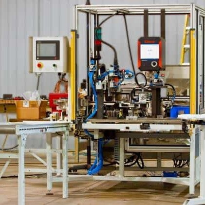 Assembly Station at manufacturing site