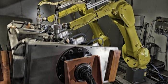 Dual Robotic Laser Cutting cell