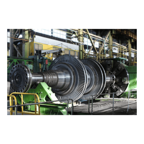 Machine inside an industry