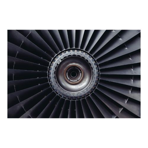Airplane's turbine - BOS industries